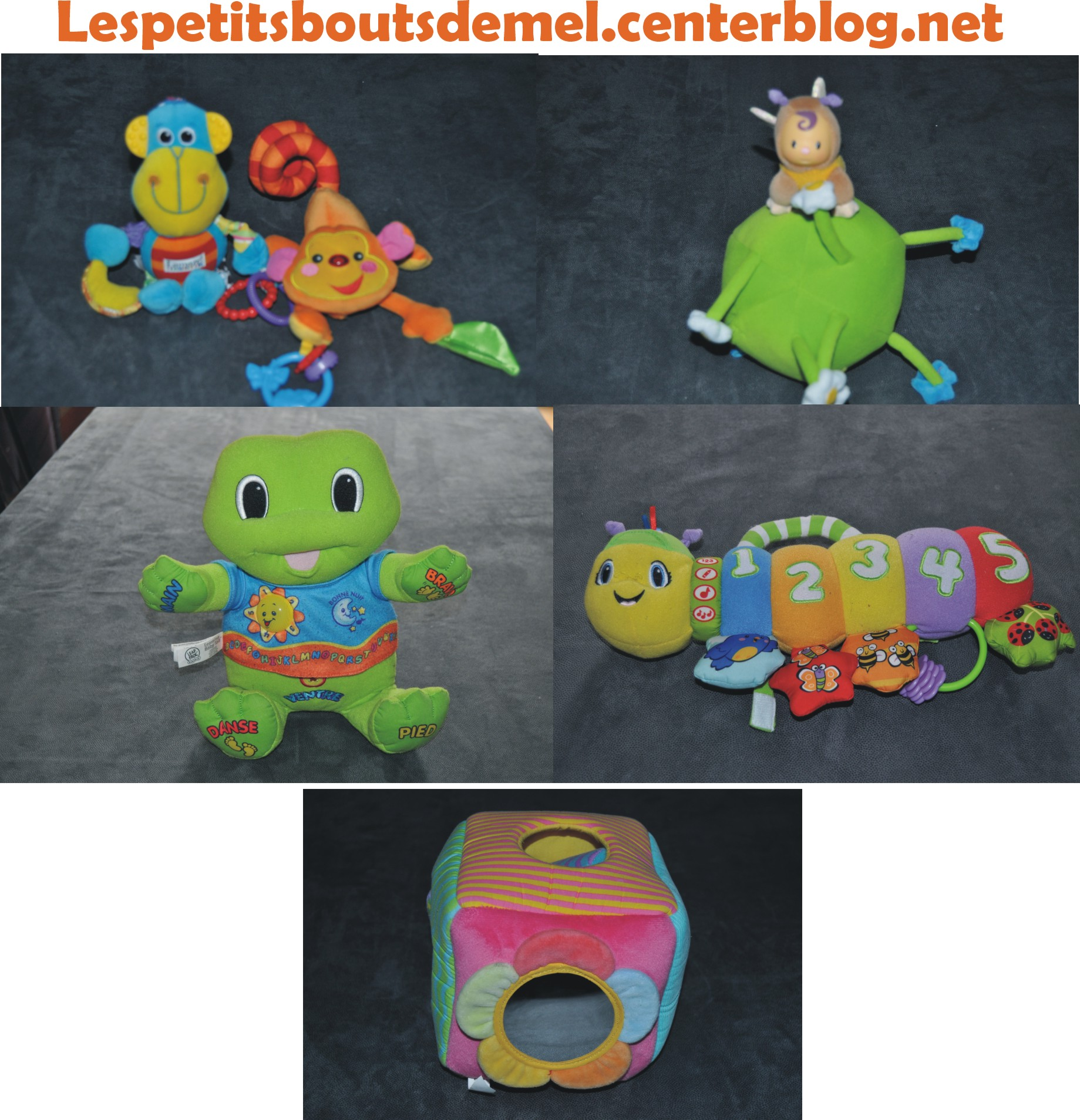 Voici quelques jouets pour les plus jeunes